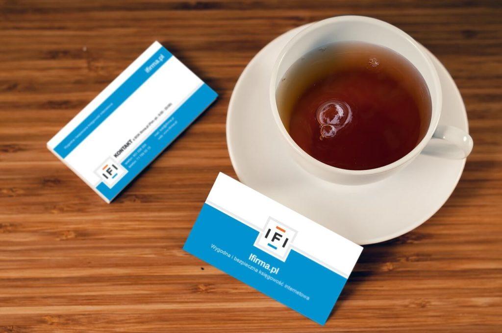 紅茶と名刺